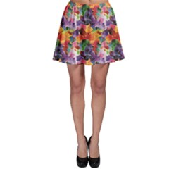 Colorful Abstract Pattern Skater Skirt by CoolDesigns
