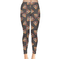 Gray Billiards Flat Pattern Leggings by CoolDesigns