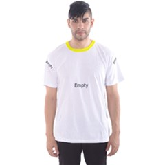 Yellow Floral Pattern Men s Sport Mesh Tee by CoolDesigns