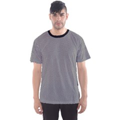 Black Squares Pattern Men s Sport Mesh Tee by CoolDesigns