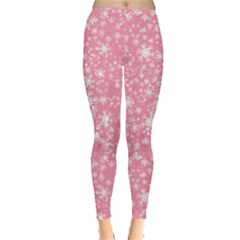 Pink Starry Leggings  by CoolDesigns
