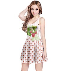 Strawberry Day Reversible Sleeveless Dress by CoolDesigns