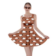 Brown Wolfs Dressed In Sheeps Skater Dress by CoolDesigns