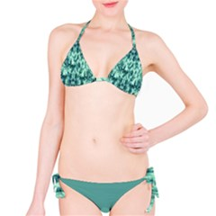 Green Tie Dye Bikini Set Bikini Set by CoolDesigns