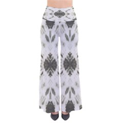 Dark Gray Tie Dye Palazzo Pants by CoolDesigns