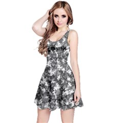 Gray 2 Camouflage Pattern Reversible Sleeveless Dress by CoolDesigns