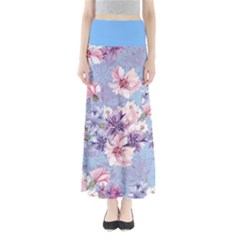 Light Blue Sakura Maxi Skirt by CoolDesigns