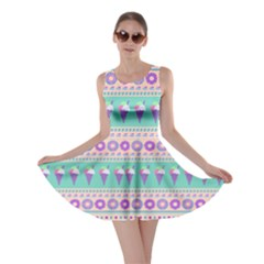 Purple Icecream Skater Dress by CoolDesigns