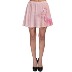 Flamingo Pinky Skater Skirt by CoolDesigns