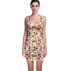 Colorful Tone Bodycon Dress by CoolDesigns