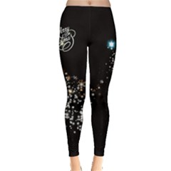 Star In Dark Leggings  by CoolDesigns