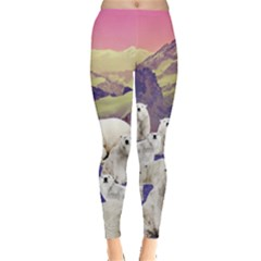 Polar Bear Leggings  by CoolDesigns