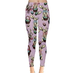 Violet Rabbit Leggings  by CoolDesigns