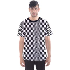 Black On The Topic Of Chess Men s Sport Mesh Tee by CoolDesigns