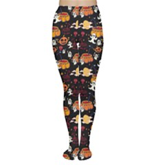 Colorful Halloween Cartoon Bright Women s Tights by CoolDesigns