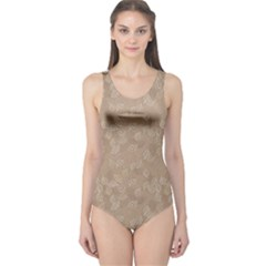 Nude Pattern One Piece Swimsuit by CoolDesigns