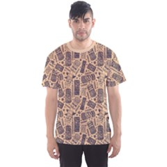 Nude Vintage Aloha Tiki Pattern For Your Business Men s Sport Mesh Tee