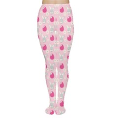 Pink Symbols Of Easter Women s Tights by CoolDesigns