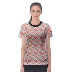 Colorful Bunch Of Colorful Balloons Pattern Women s Sport Mesh Tee by CoolDesigns
