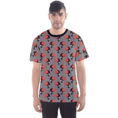 Colorful Pattern With Skulls Men s Sport Mesh Tee by CoolDesigns