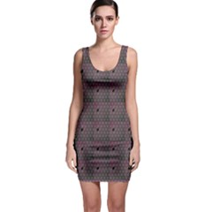 Black Spiderweb Pattern Bodycon Dress by CoolDesigns