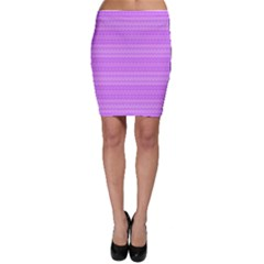 Purple Chevron Pattern Bodycon Skirt by CoolDesigns