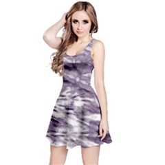 Violet Tie Dye Sleeveless Dress by CoolDesigns