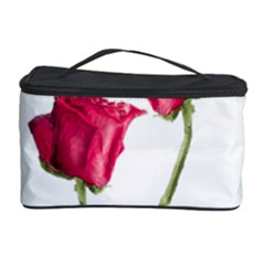 Red Roses Photo Cosmetic Storage Case by dflcprints