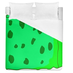 Alien Spon Green Duvet Cover (queen Size)