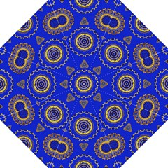 Abstract Mandala Seamless Pattern Hook Handle Umbrellas (large) by Simbadda