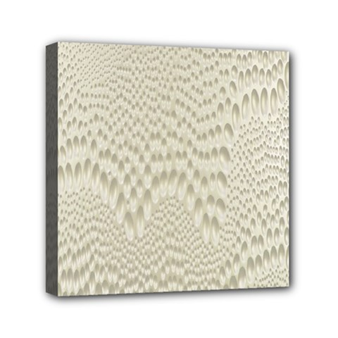 Coral X Ray Rendering Hinges Structure Kinematics Mini Canvas 6  X 6  by Alisyart