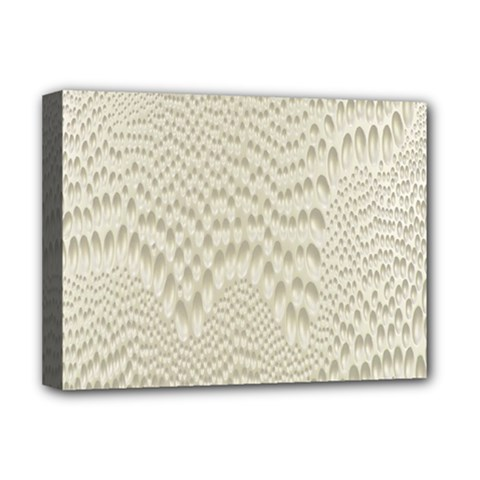 Coral X Ray Rendering Hinges Structure Kinematics Deluxe Canvas 16  X 12   by Alisyart
