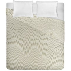 Coral X Ray Rendering Hinges Structure Kinematics Duvet Cover Double Side (california King Size) by Alisyart