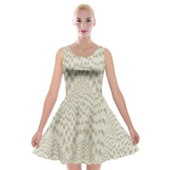 Coral X Ray Rendering Hinges Structure Kinematics Velvet Skater Dress