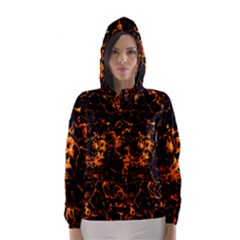 Fiery Ground Hooded Wind Breaker (women) by Alisyart