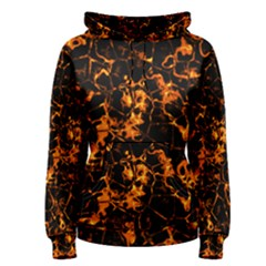 Fiery Ground Women s Pullover Hoodie