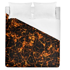 Fiery Ground Duvet Cover (queen Size)