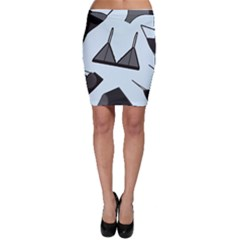 Grown Ups Guide To Underwear Opener Black Blue Bodycon Skirt