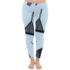 Grown Ups Guide To Underwear Opener Black Blue Classic Winter Leggings