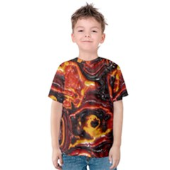 Lava Active Volcano Nature Kids  Cotton Tee by Alisyart