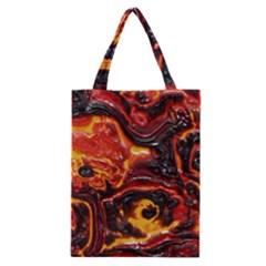 Lava Active Volcano Nature Classic Tote Bag by Alisyart