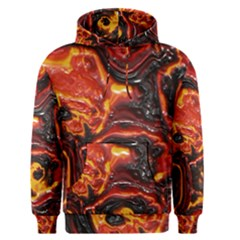 Lava Active Volcano Nature Men s Pullover Hoodie
