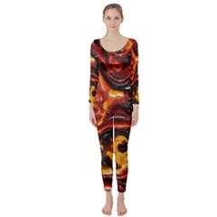 Lava Active Volcano Nature Long Sleeve Catsuit