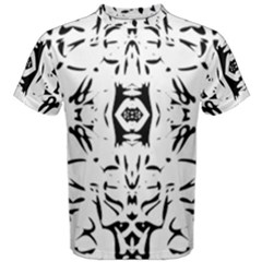 Nums Seamless Tile Mirror Men s Cotton Tee