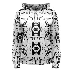 Nums Seamless Tile Mirror Women s Pullover Hoodie