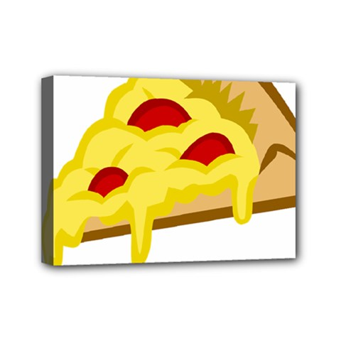 Pasta Salad Pizza Cheese Mini Canvas 7  X 5  by Alisyart