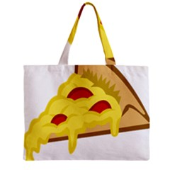 Pasta Salad Pizza Cheese Zipper Mini Tote Bag