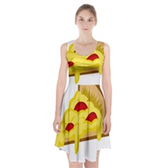 Pasta Salad Pizza Cheese Racerback Midi Dress by Alisyart