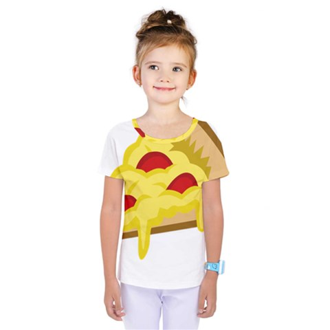 Pasta Salad Pizza Cheese Kids  One Piece Tee by Alisyart