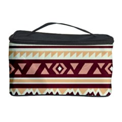 Pattern Tribal Triangle Cosmetic Storage Case